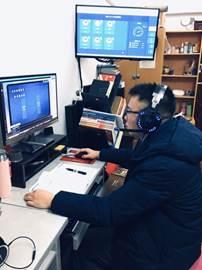 【系部新闻】电子信息与财经商务系:翘首以盼,专业课终于上线